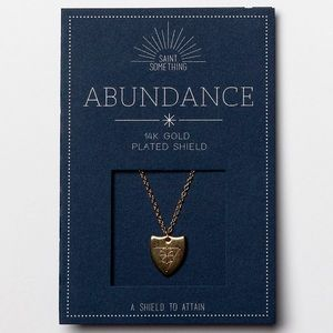 ABUNDANCE NECKLACE 14k gold